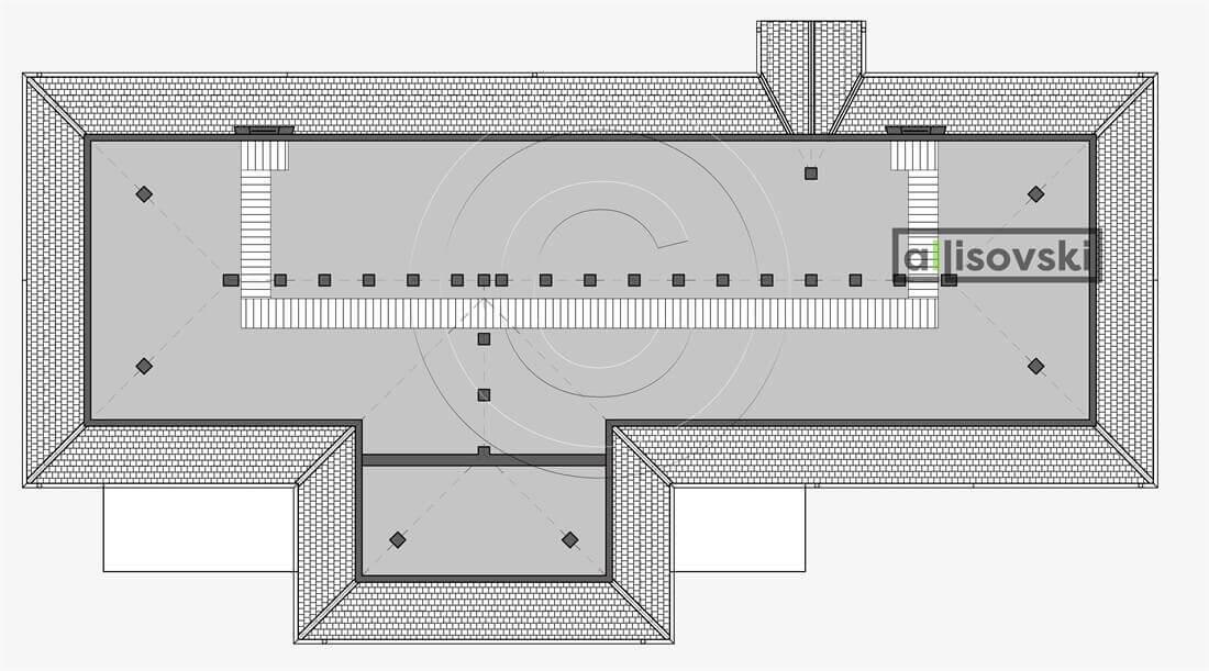 Мансардный этаж планировка пекарня