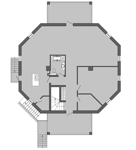 HEXAHEDRON HOUSE