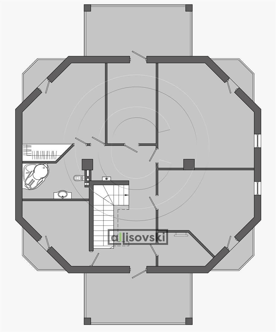 Проектирование плана частного дома