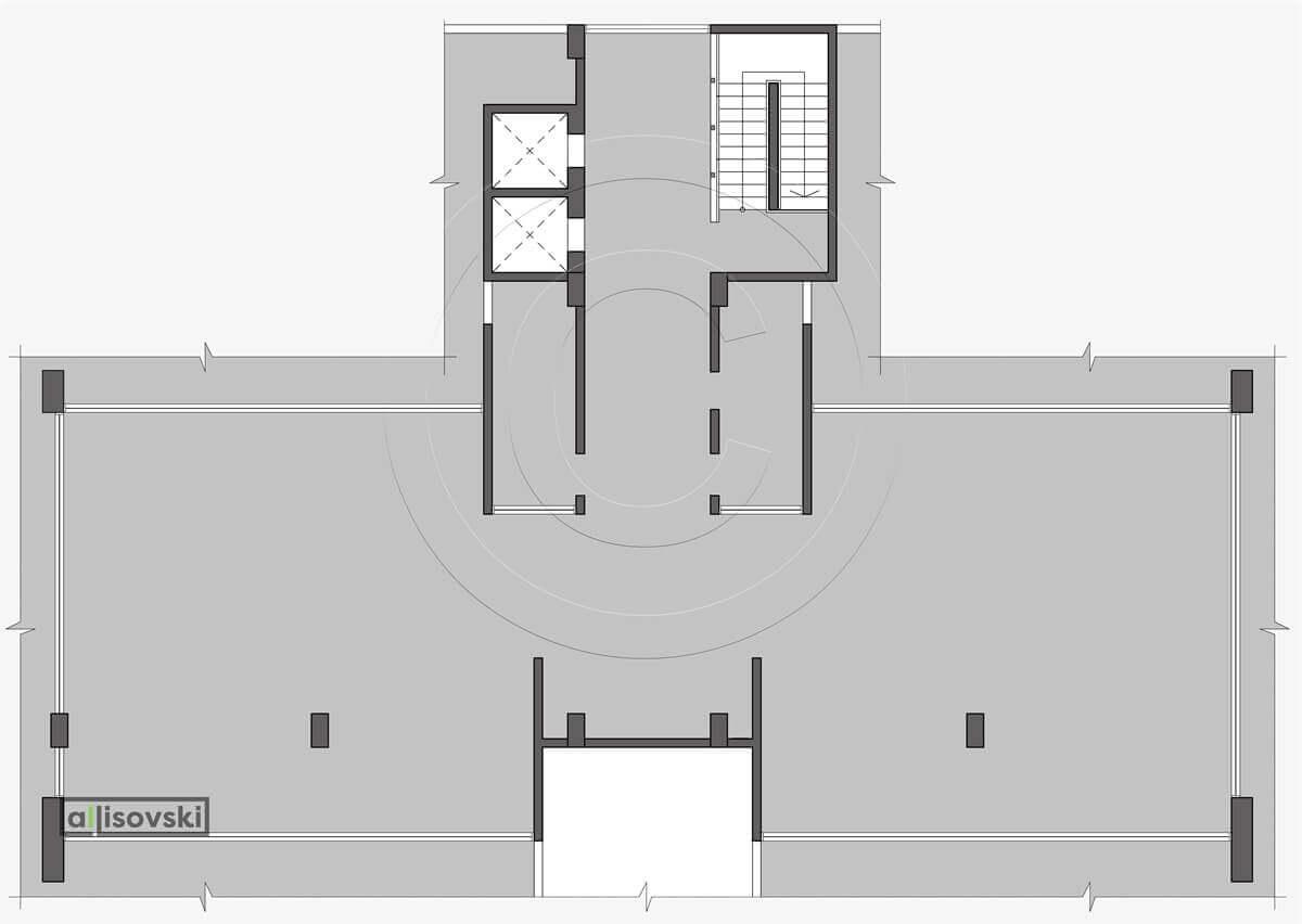 Демонтажный план офиса чертеж демонтаж