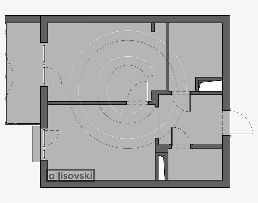 Монтажный план квартиры монтаж чертеж