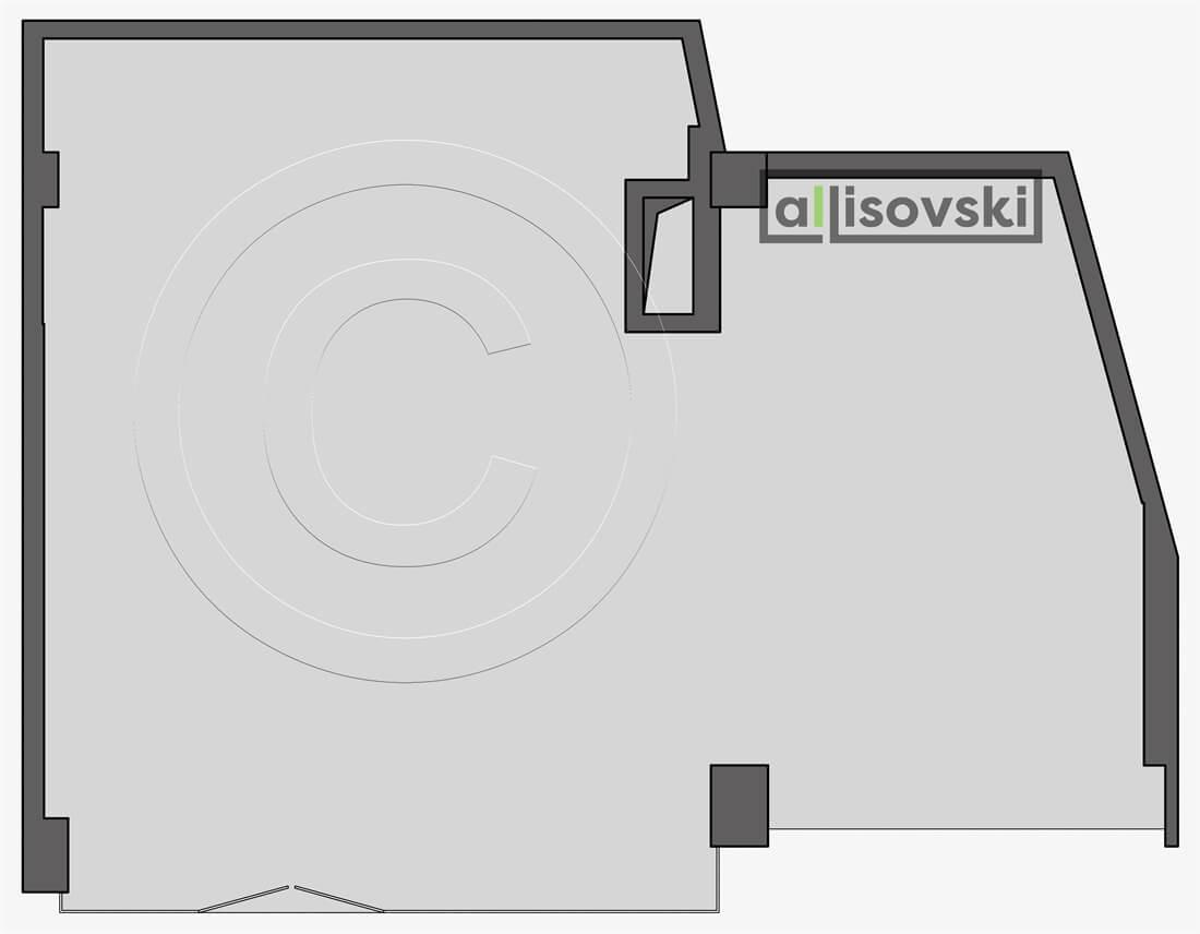 Демонтажный план магазина чертеж демонтаж