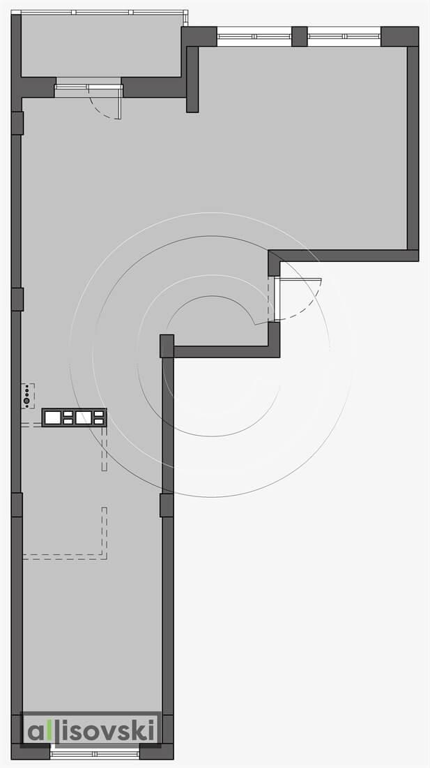 Обмерный план квартиры обмер чертеж Брейгель Маяк