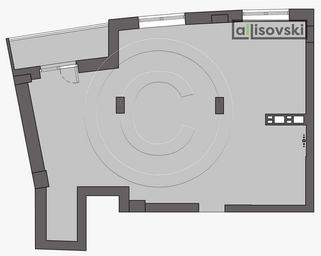 Демонтажный план квартиры чертеж демонтаж Вивальди
