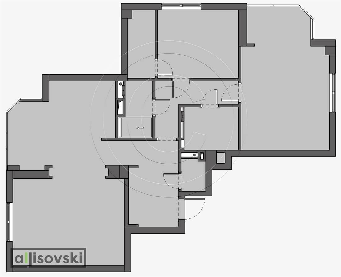 Монтажный план квартиры монтаж чертежи