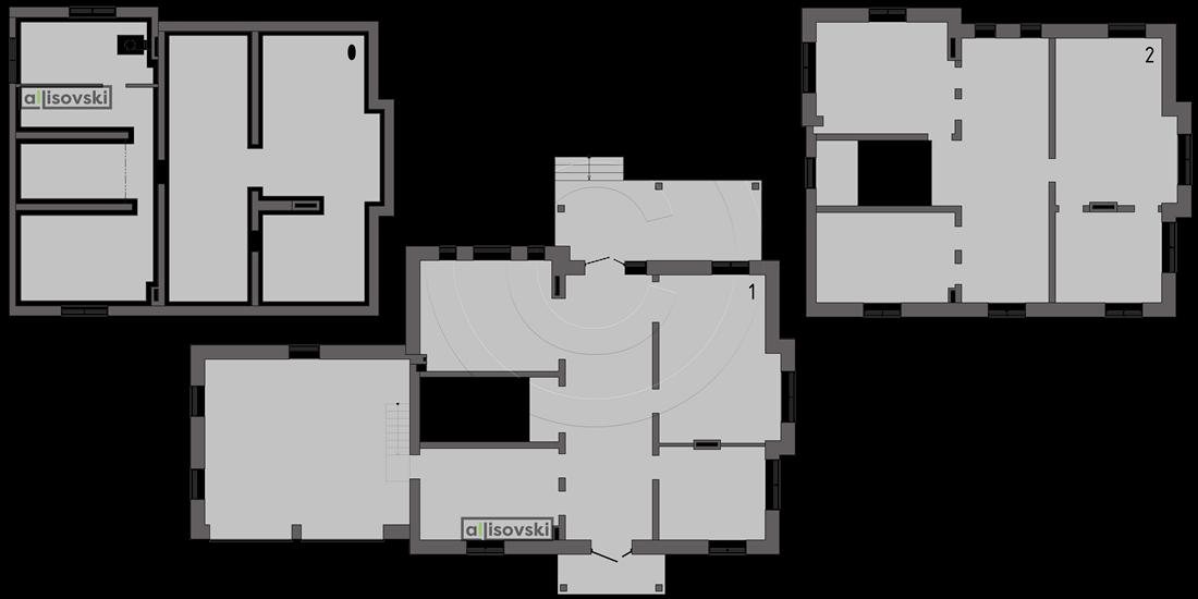 Обмерный план дома обмер чертеж
