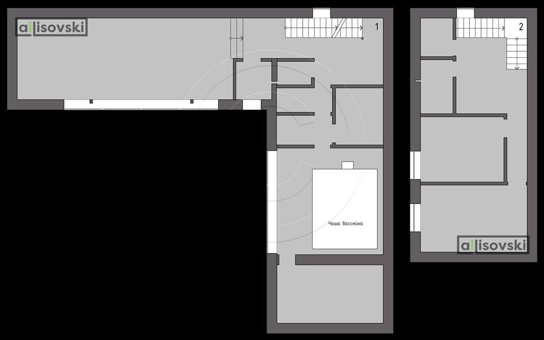 Обмерный план частного дома обмер чертеж