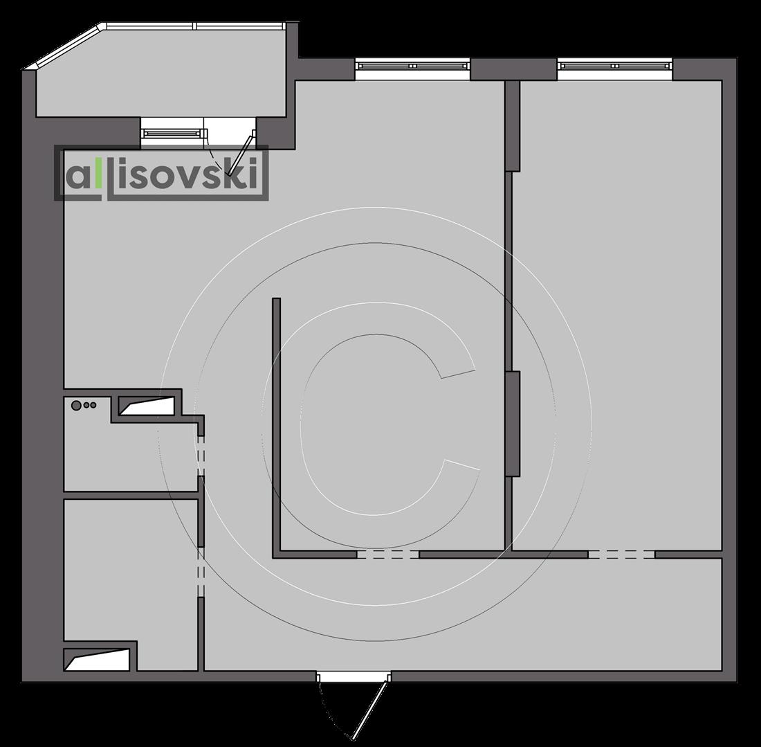 Обмерочный план обмер квартиры Протвино