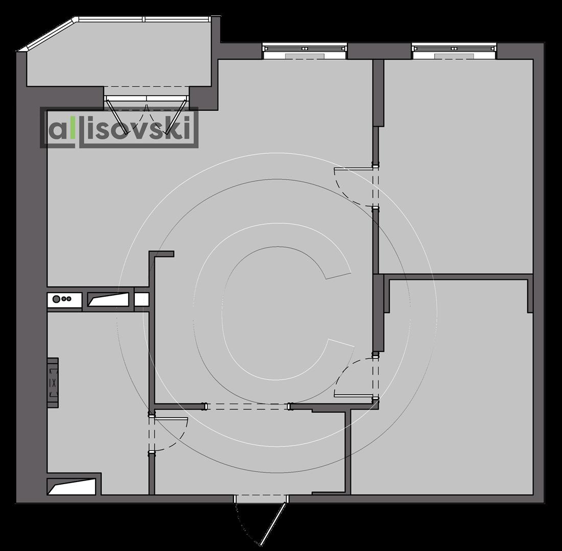 Новая планировка монтажный план квартиры Протвино