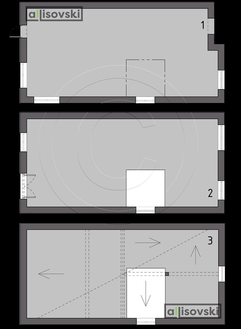Обмерочные планы Коттеджный поселок Вудлэнд Таун