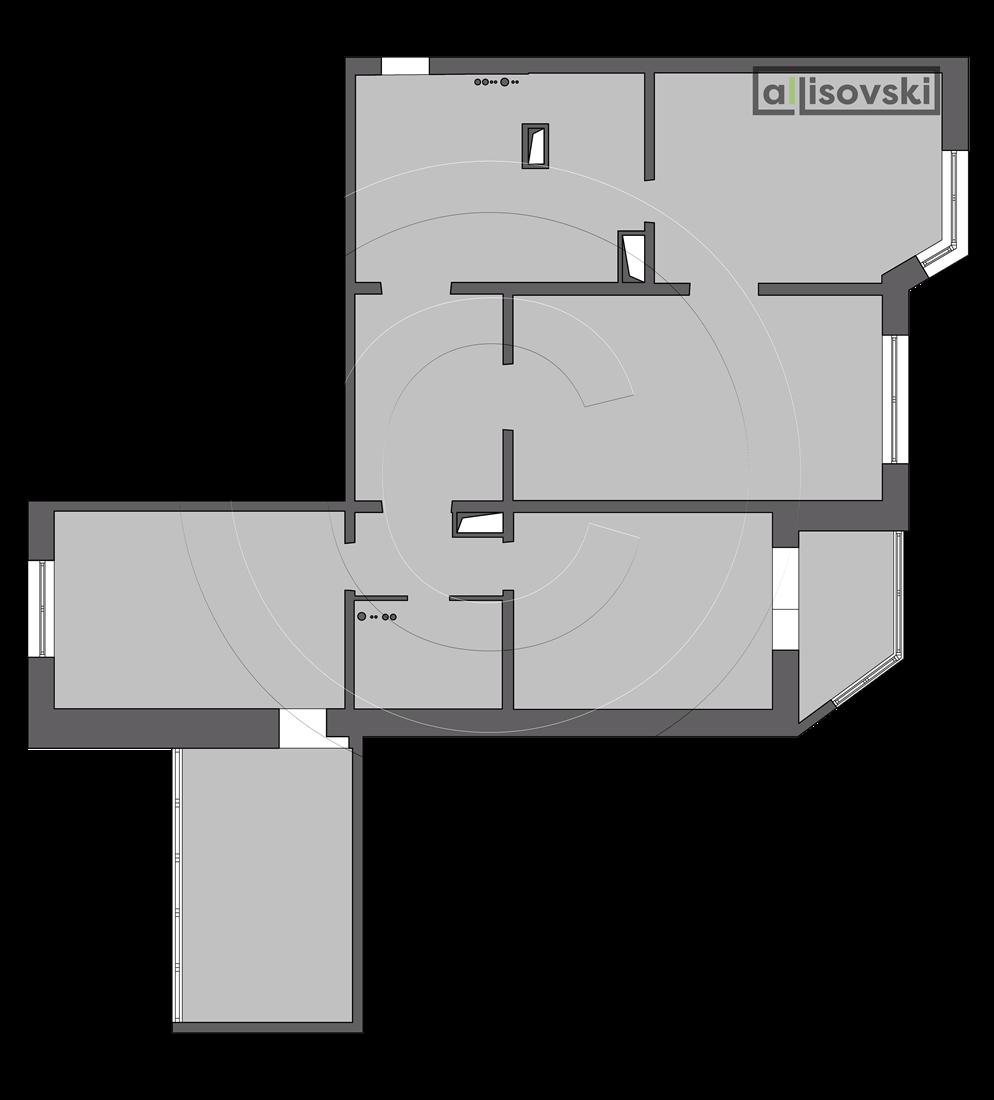 Обмерочный план чертежи