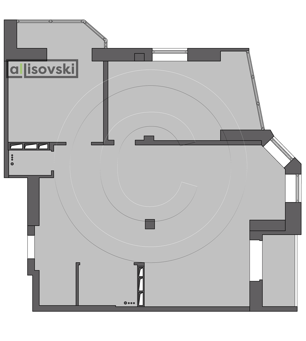Обмерный план квартиры обмер чертеж