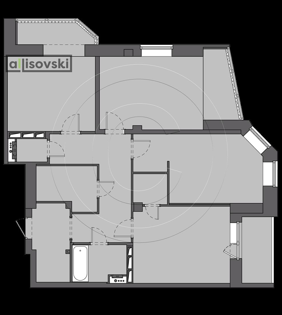 Планировка квартиры чертеж