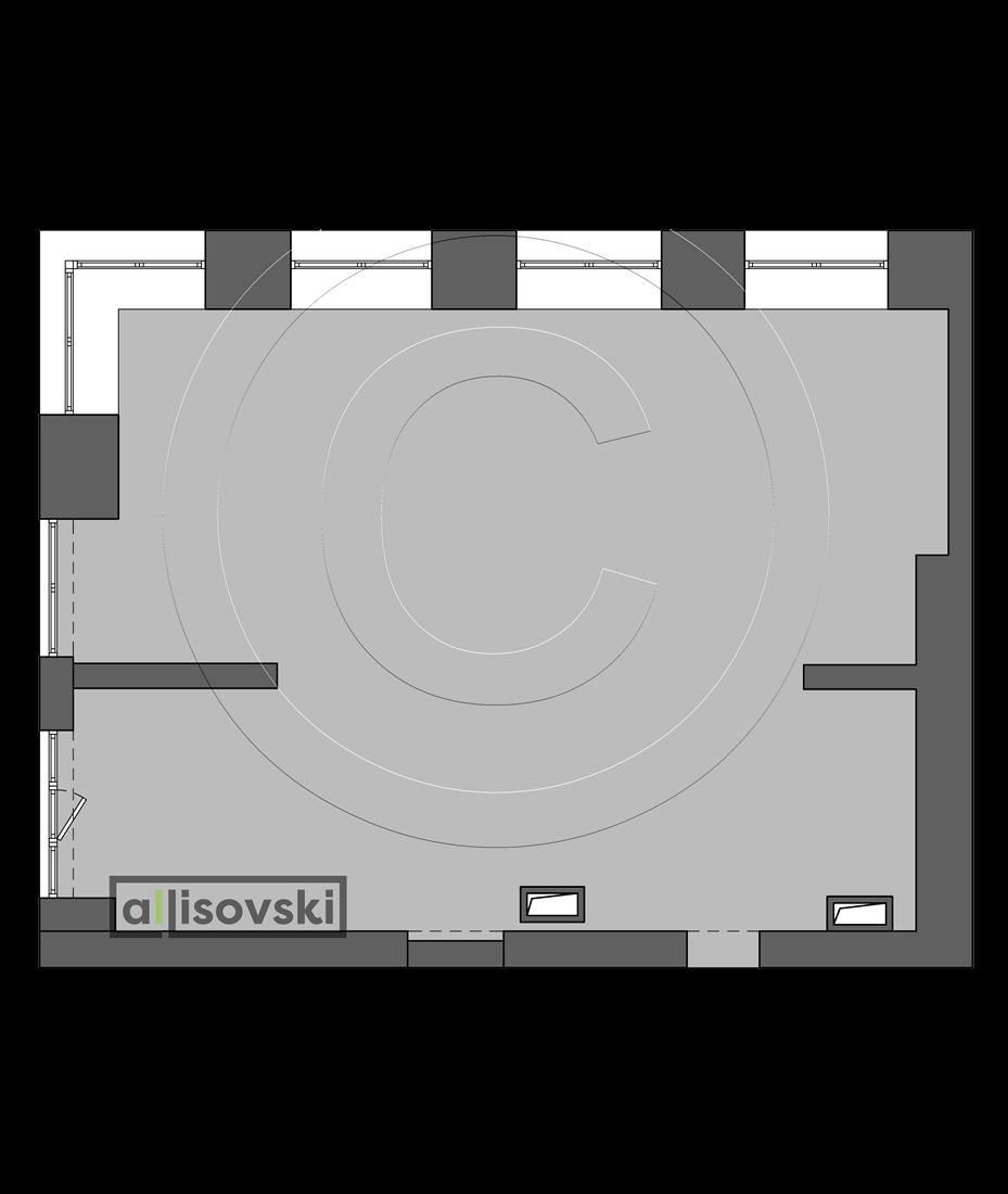 Исходная планировка квартиры ЖК Невский