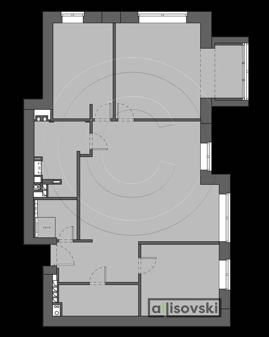 Перепланировка Басманный переулок