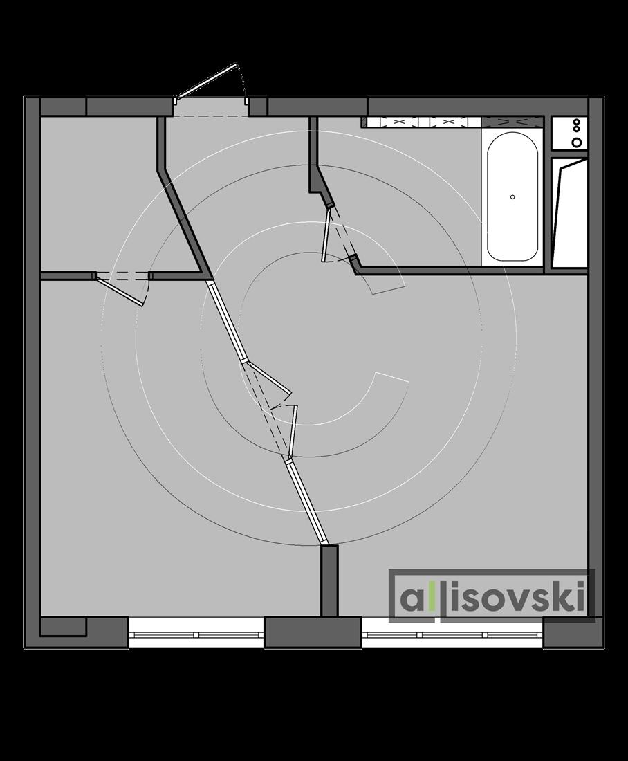 Перепланировка еродвушки