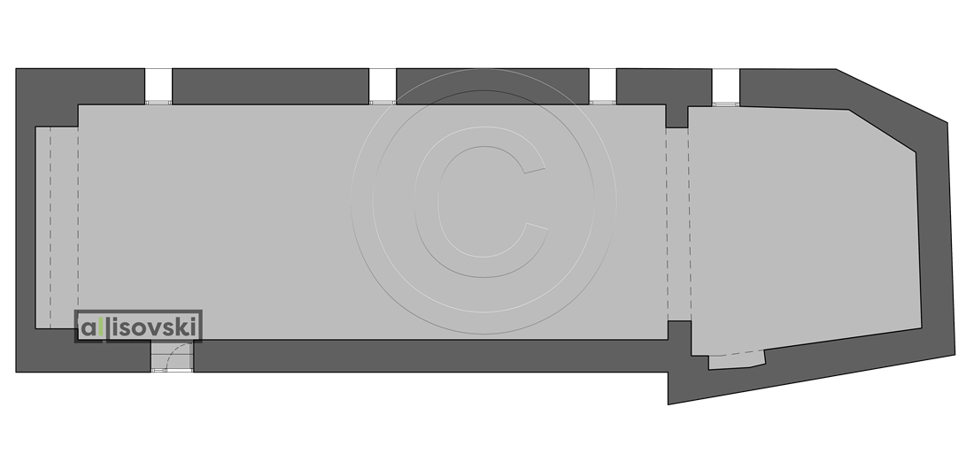 Обмерочный план ресторана
