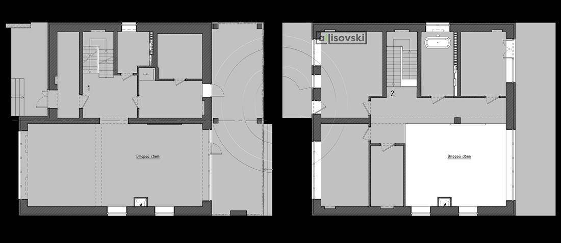 Планировка частного дома чертежи