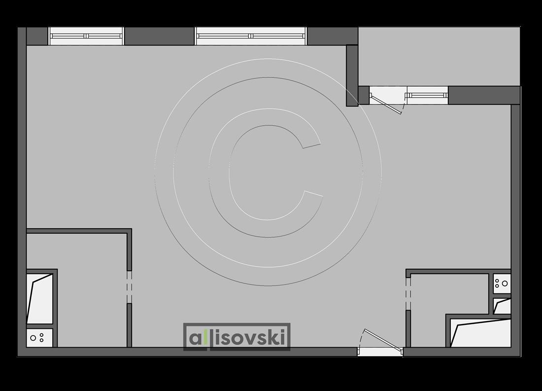 Планировка квартиры Тушино