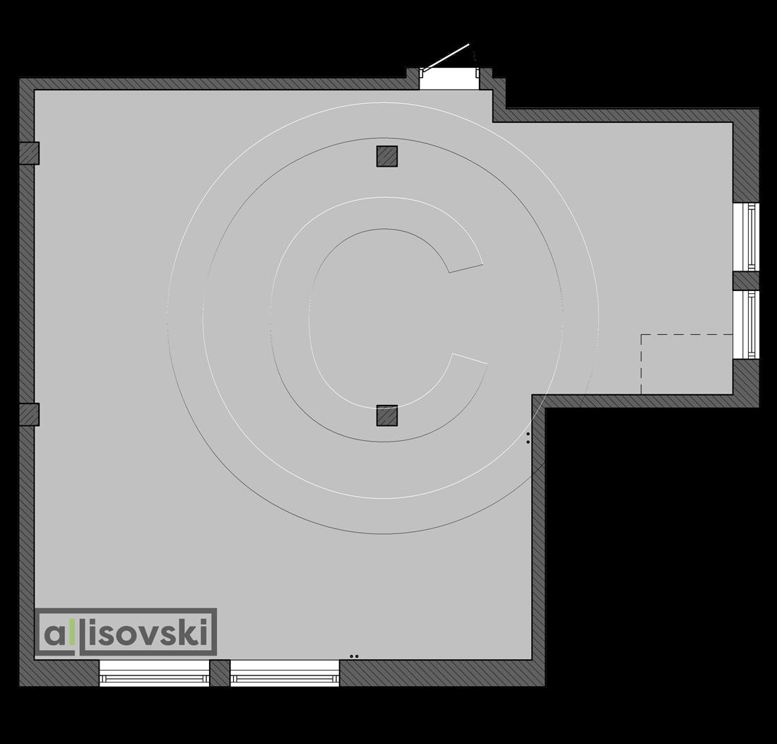 Квартира со свободной планировкой под сауну
