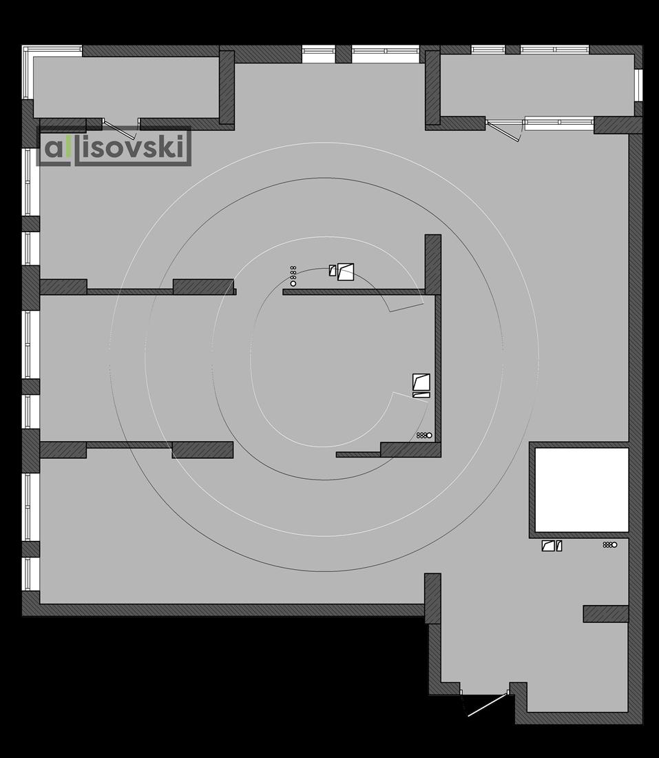 План квартиры ЖК Времена года