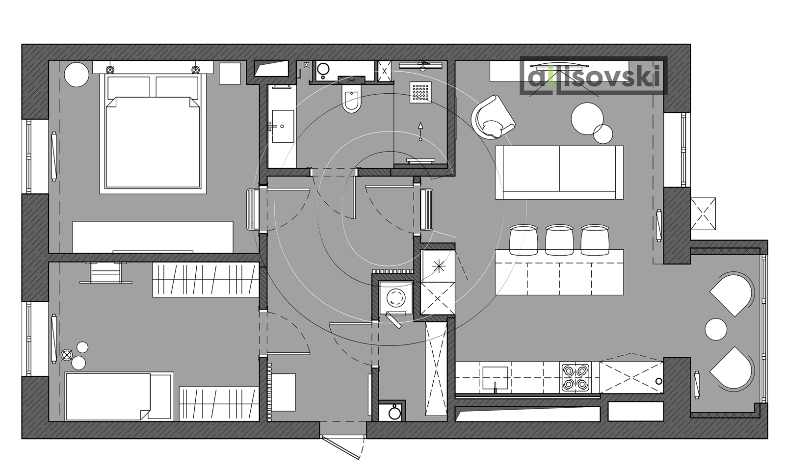 Проект чертежей для квартиры