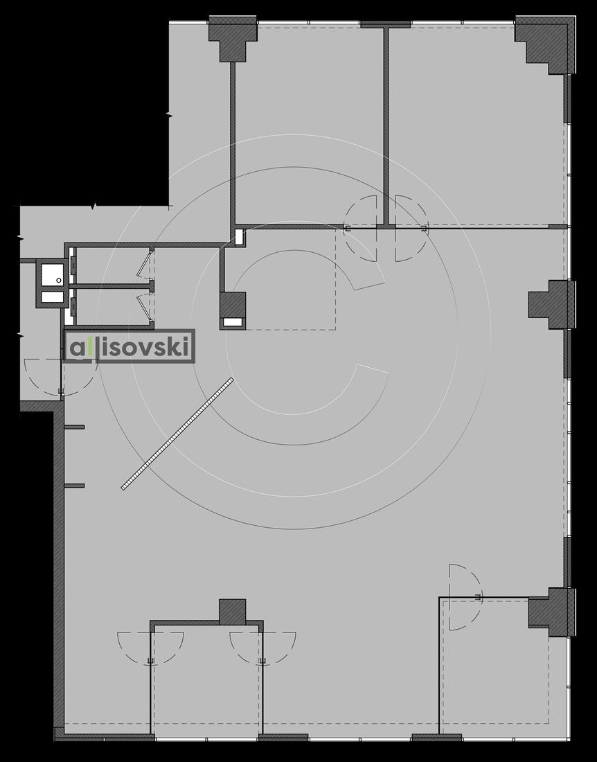 Перепланировка офиса чертежи