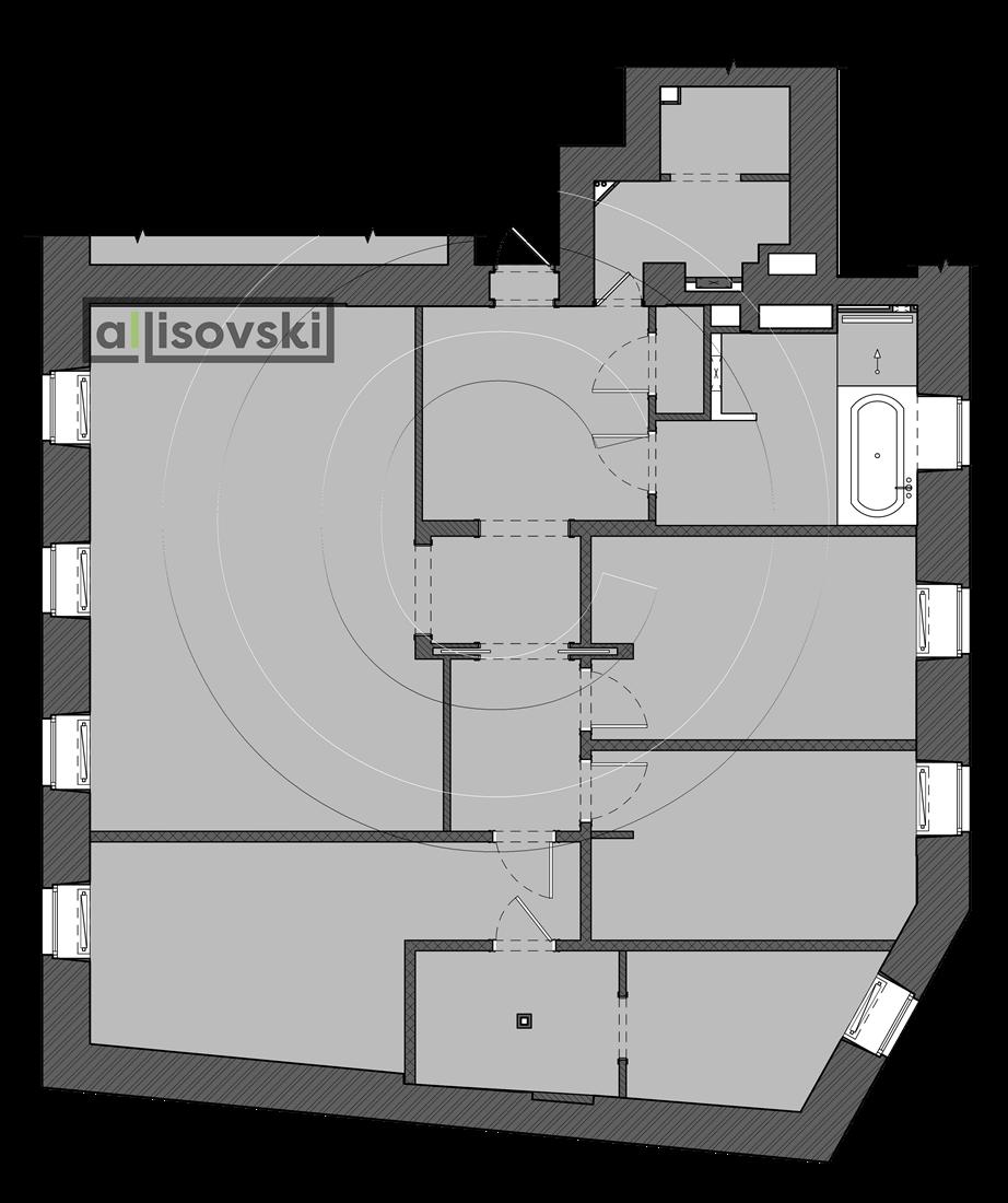 Перепланировка квартиры Моксва