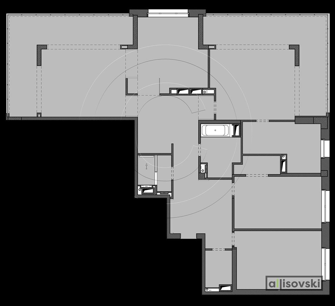 Планировка квартиры 220 метров