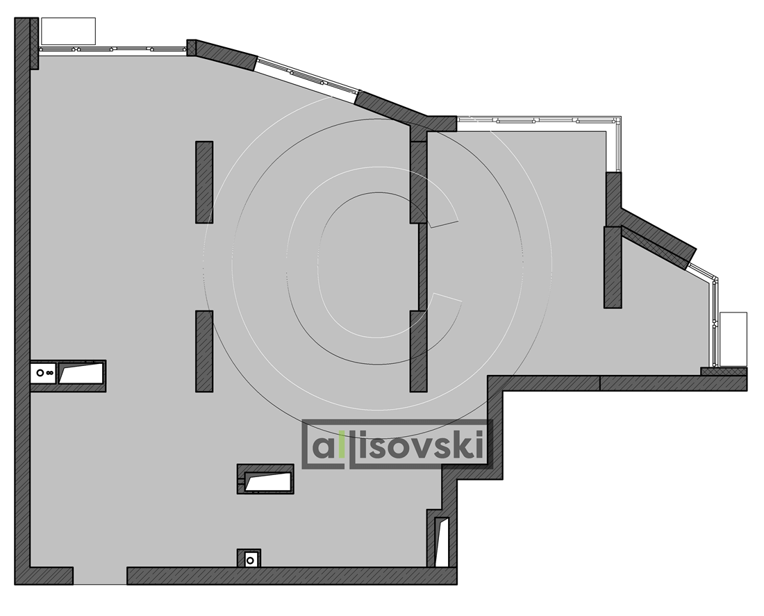 Чертеж плана квартиры